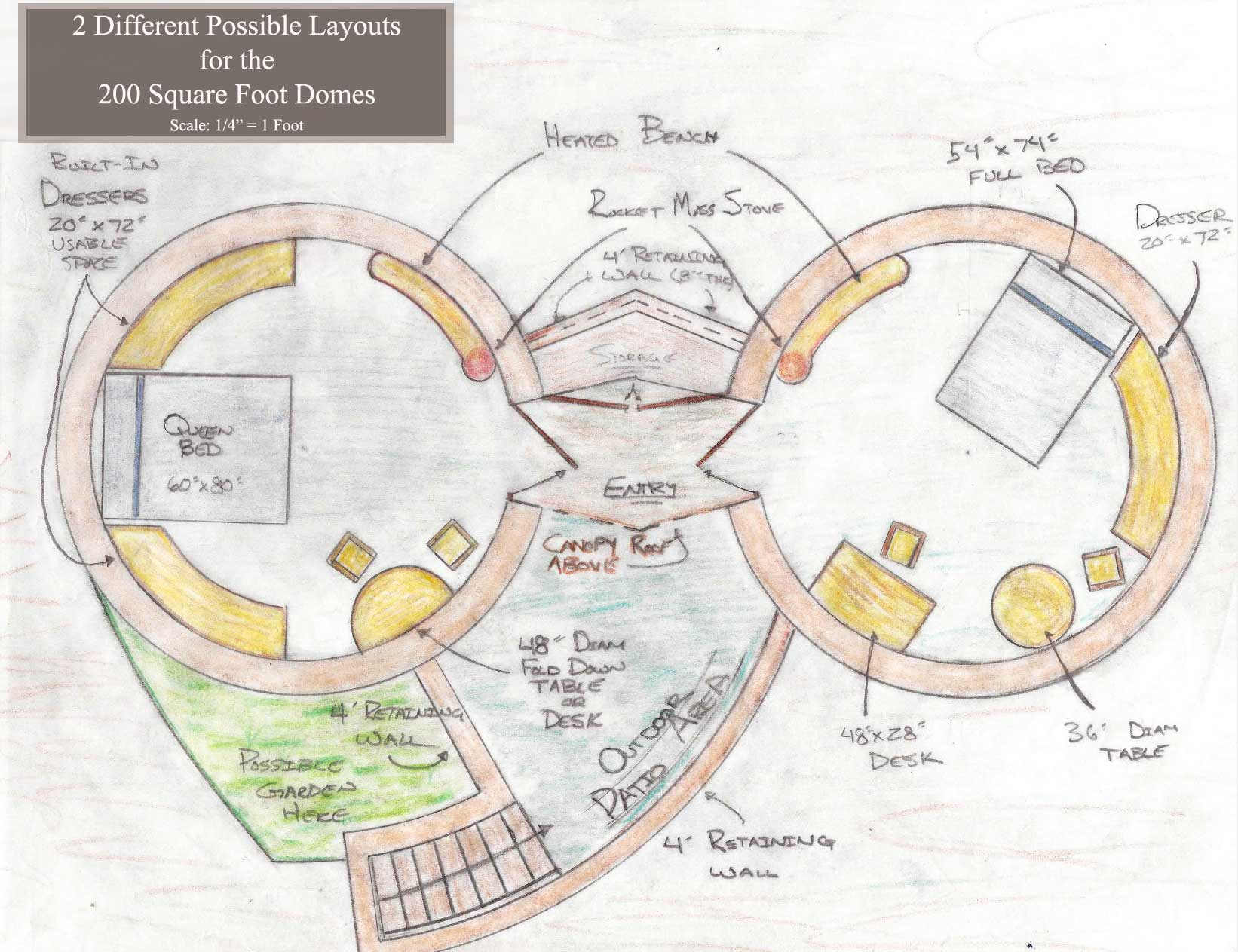 earthbag construction, pod 1, One Community, Earth Dome, sustainable village, sustainable architecture, eco-living, open source architecture, green building