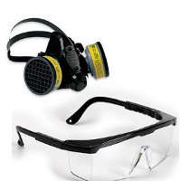 Eye Protection, Respirator, One Community