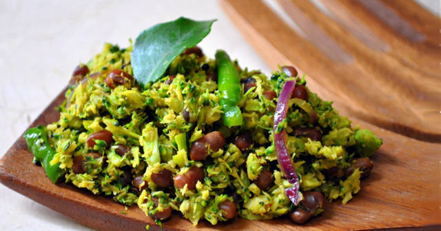 Broccoli with Red Lentils, Cole Crop Recipes, One Community
