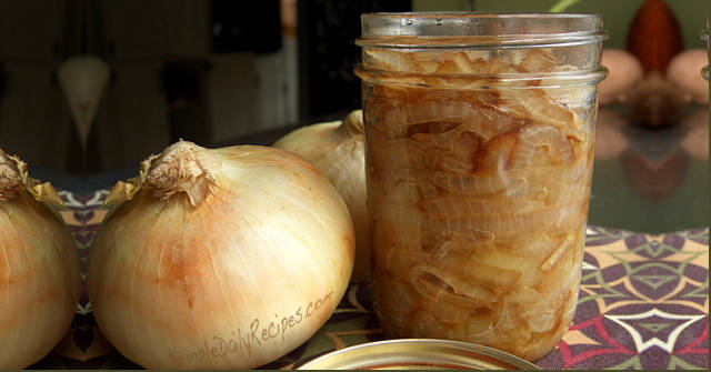 Carmelized Onions, Onion Recipes, One Community
