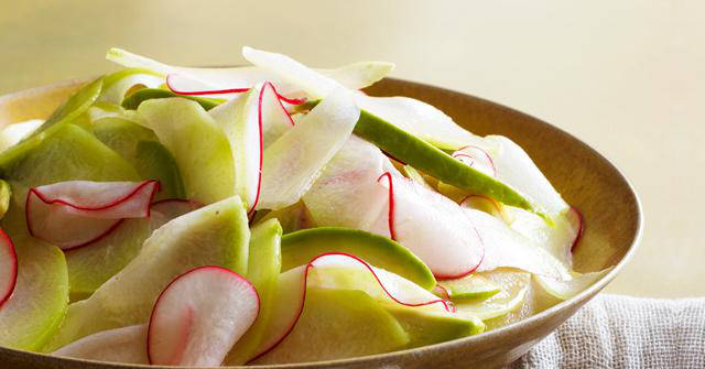 Chayote and Avocado Salad, Chayote Recipes, One Community
