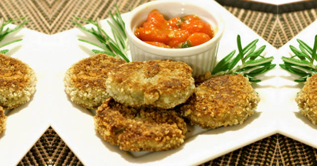 Eggplant Croquettes, Eggplant Recipes, One Community