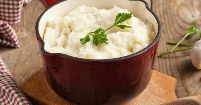 Garlic Mashed Potatoes, Potato Recipes. One Community