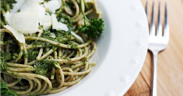 Parsley Pesto Recipe, Parsley Recipes, One Community