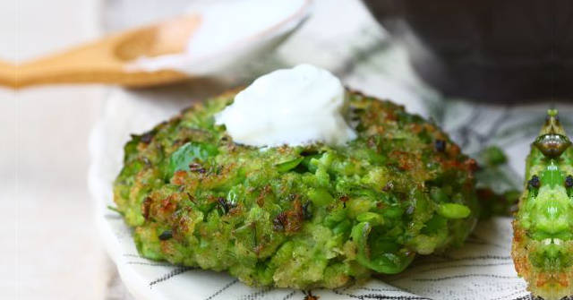 Pea-Fritters