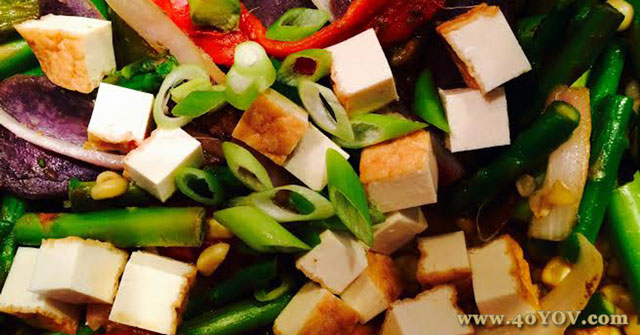 Rainbo Stir Fry, Asparagus Recipes, One Community