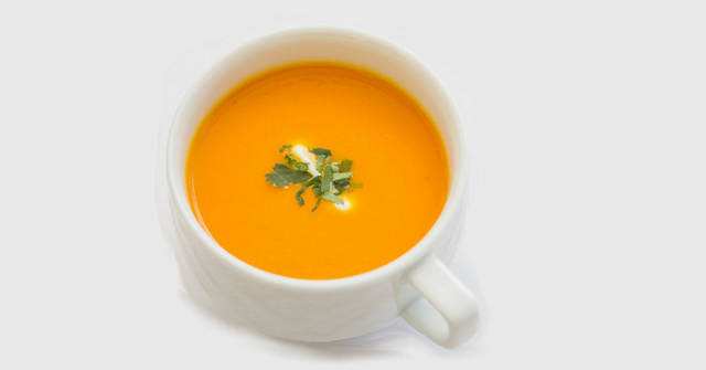 Carrot and Sweet Potato Soup, carrot recipes, One Community