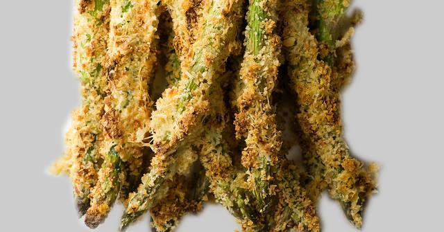 Honey Breadcrumb Asparagus, Asparagus Recipes, One Community