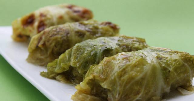 Stuffed Savoy Cabbage, Cole Crop Recipes, One Community