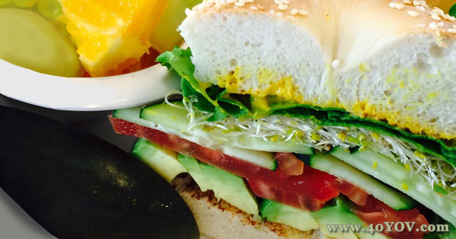 Avocado and Veggie Sandwich, Vegan Sandwich Recipe, One Community