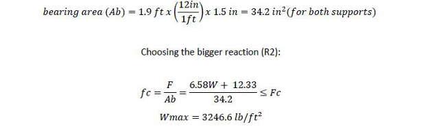 wmax bearing