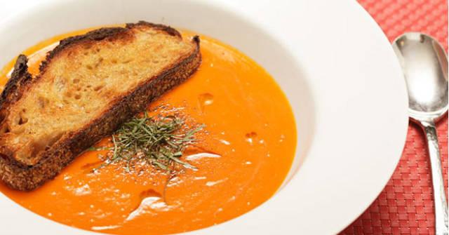 15 Minute Creamy Tomato Soup, Tomato Recipes, One Communitys