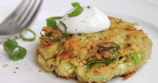 Brussel Sprout Recipes, Brussel Sprout Latkes, One Community