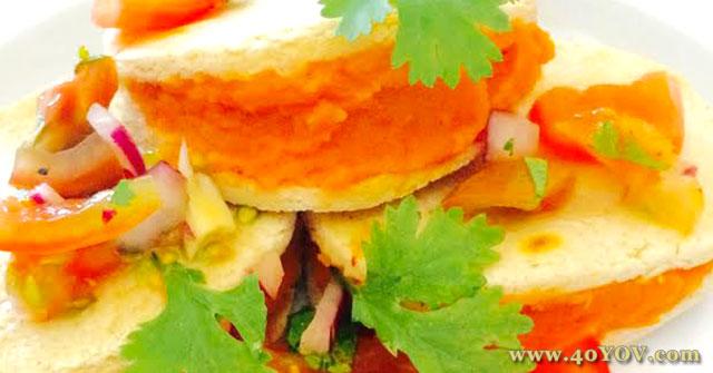 Sweet Potato Gorditas with Fresh Salsa, Sweet Potato Recipes, One Community